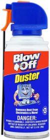 blow dust